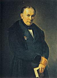 Портрет В.А. Жуковского (Ф.Т. Гильдебрант)