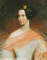 Портрет императрицы...1837