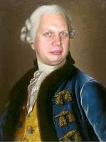 Аргунов И.П.. Картина Портрет князя С.М. Голицына (1727-1808)