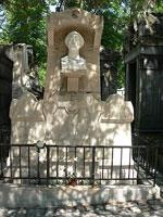 Могила Альфреда де Мюссе