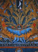 Мозаика базилики Сан-Клементе
