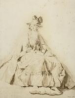 Портрет молодой девушки (Ж.О. Фрагонар)
