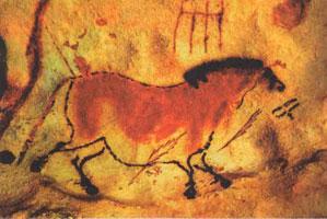 Лошадь (пещерная живопись)