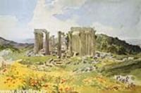 Храм Аполлона Эпикурейского в Фигалии.1835