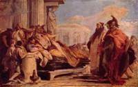 Смерть Дидоны. Картина Дж. Б. Тьеполо