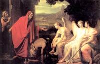 Явление трёх ангелов у дуба Маврийского (К.П. Брюллов)