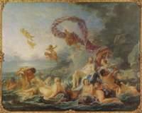 """Картина Франсуа Буше """"Рождение Венеры"""""""