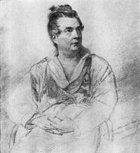 Портрет И. Витали (рисунок)