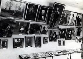 Экспозиция русского искусства в музее (1950-е г.)