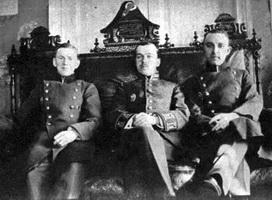Лицеисты Катковского лицея в шахматной гостинной