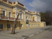 Фасад галереи Айвазовского