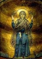 Мозаика Софийского собора в Киеве