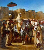 Султан Марокко (Эжен Делакруа)