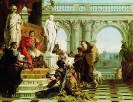 Меценат у императора Августа