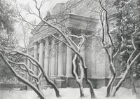 Музей изобразительных искусств им. А.С. Пушкина (зимой)