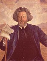 М.А. Волошин (автопортрет)