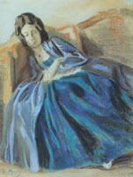 Спящая девушка (В.Э. Борисов-Мусатов)