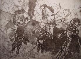 Огурцы (Булат Раткевич, мягкий лак)