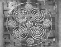 Свастика индуистского храма