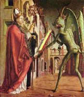 Михаэль Пахер, Отец церкви Августин и Сатана