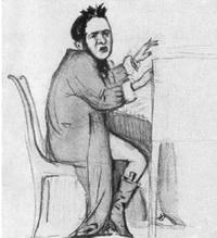 М. Глинка (карикатура)