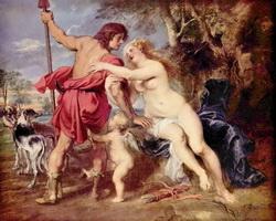 Венера и Адонис (П.П. Рубенс)