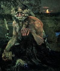 Пан (М.А. Врубель, 1899 г.)