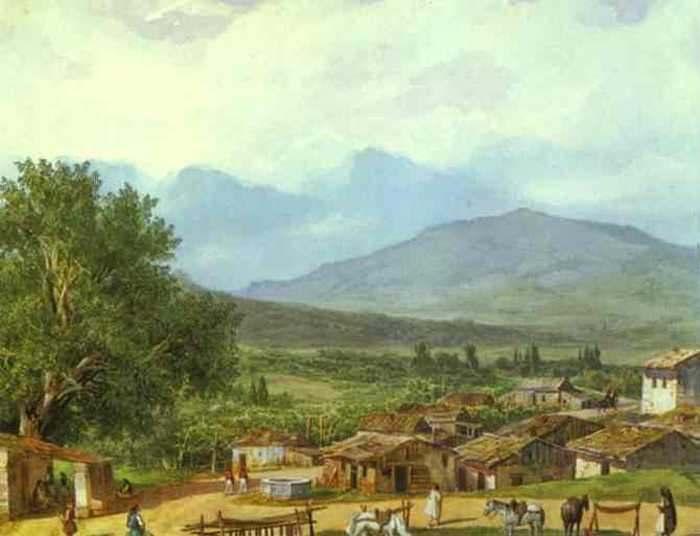Деревня св. Рока близ города Корфу.