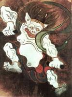 Боги ветра и грома (О. Корин, деталь)
