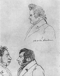 Автопортрет, О. Кипренский, С. Соболевский