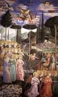 Фрески Гоццоли в палаццо Медичи-Риккарди