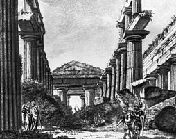 Эскиз декорации к трагедии Филоктет