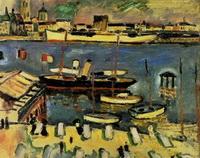 Белый корабль (Ж. Брак, 1906 г.)