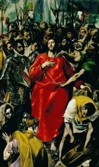 Доменико Эль Греко [Доменикос Теотокопулос] (ок. 1541 — 1614) Эсполио (Срывание одежд с Христа). 1577–1579