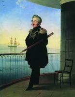 Портрет вице-адмирала М.П. Лазарева (1839 г.)