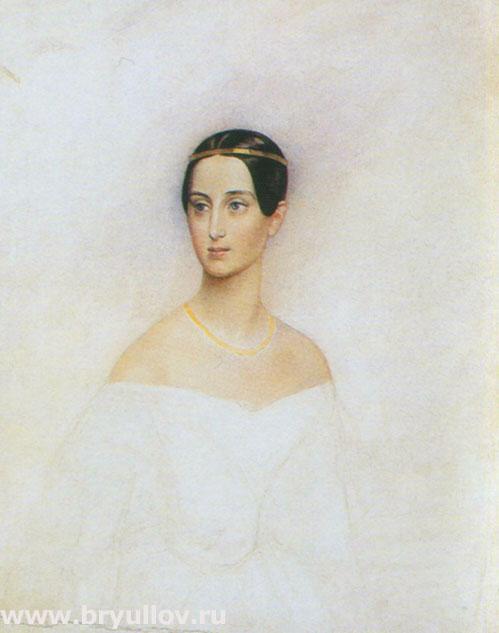 Портрет великой княжны Татьяны Александровны.