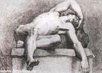 Натурщик. 1813-1816