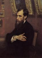 Купец, меценат и коллекционер П.М. Третьяков