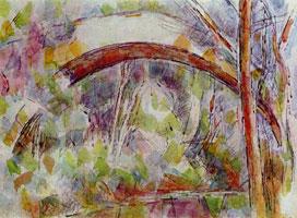 Река у моста трёх источников (Поль Сезанн)