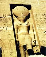 Храм Ра (рельеф, камень)