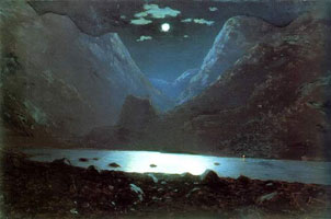 Дарьяльское ущелье (А.И. Куинджи)