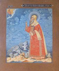 Икона (Строгановская школа, XVII в.)