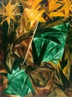 Лучистые лилии (Н. Гончарова, 1913 г.)