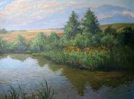 Картина Река