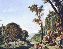 Иосиф у колодца (А. Эльсхеймер)