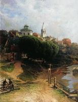 Вид города (Н.Е. Маковский, 1884 г.)