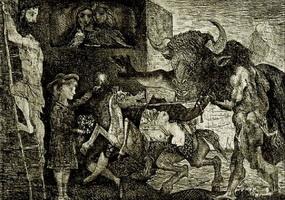 Стойкость минотавра (Пабло Пикассо)