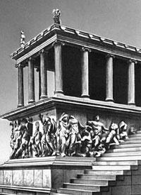Большой алтарь Зевса в Пергаме