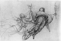Этюд для росписи Исакиевского собора