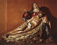 Грегорио Фернандес. Оплакивание Христа. 1617